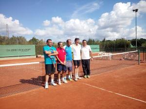 i 4 finalisti con il Maestro Sandro Massei