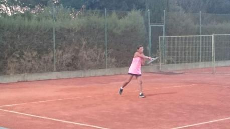 Giuliana Nieddu brillante semifinalista