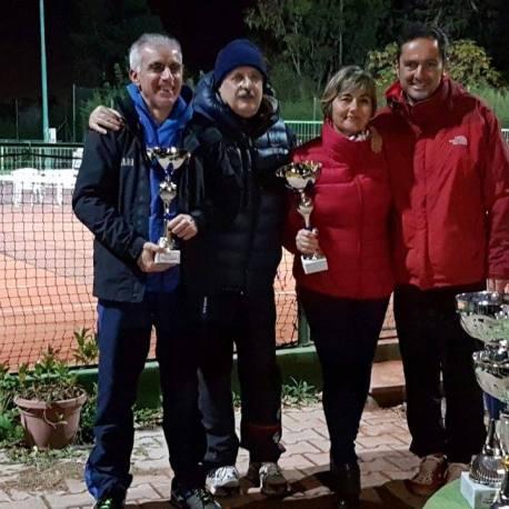 Anna Cherchi e Sergio Loriga campioni sociali di doppio misto 2016