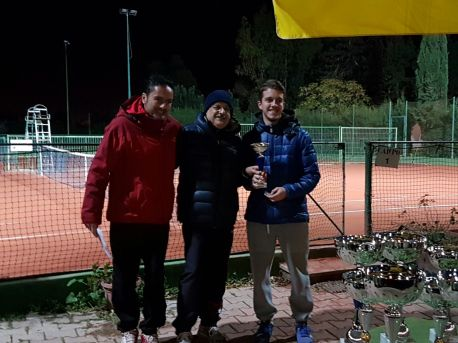 Francesco Scanu ha raggiunto la finale contro Davide Deiosso