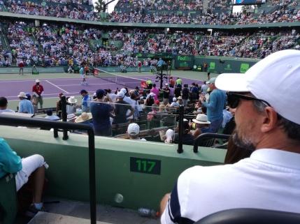 In panchina con Goran Ivanisevic