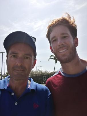 Sandro con G. Alcorta