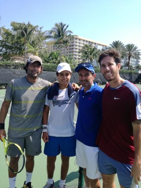 Pedro, Piercarlo, Sandro e Guillermo