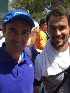 con Fabio Fognini