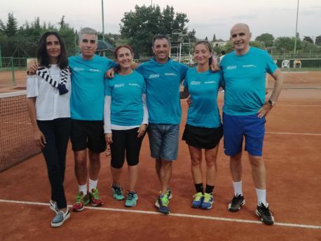 La squadra Ferrer con il capitano G.Luca Olia