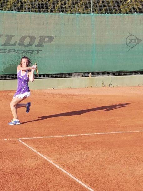 Laura Petrucci in azione