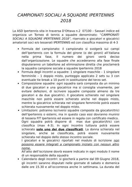 CAMPIONATI SOCIALI A SQUADRE IPERTENNIS 2018 - Copia-1